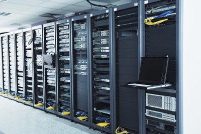 Serverräume für den Massenzugriff