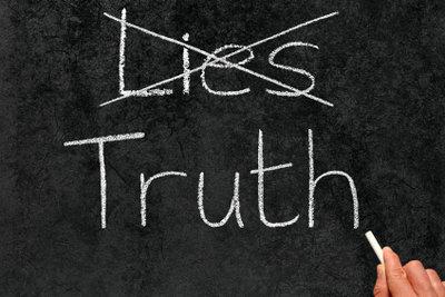 Wer lügt, verrät sich irgendwann.
