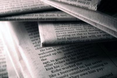 Zeitschriften müssen Text und nicht nur Werbung beinhalten.
