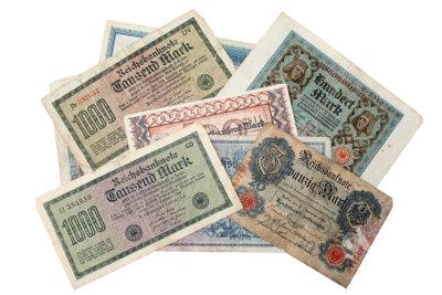 Bis zur Hyperinflation reichten auf Geldscheinen noch drei Nullen aus.