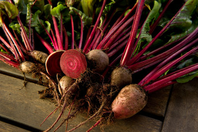 Die Rote Bete ist äußerst vitamin- und mineralstoffreich.