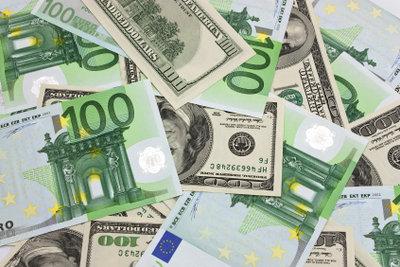 Geldscheine enthalten Hologramme.