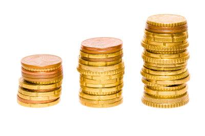 Große Nachfrage führt zum Steigen des Goldpreises.