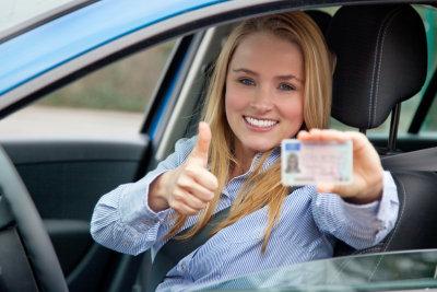 Den Führerschein bekommen Sie meistens direkt.