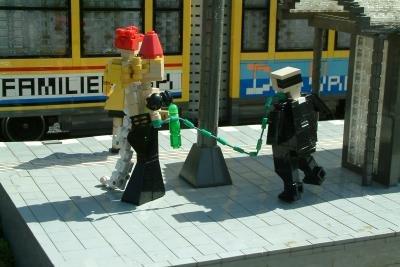 Domina im Legoland.