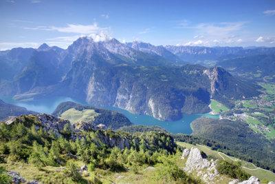 Bayern ist zum Teil sehr ländlich.