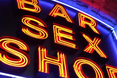 Rund um die sündige Meile gibt es nicht nur Sexshops.