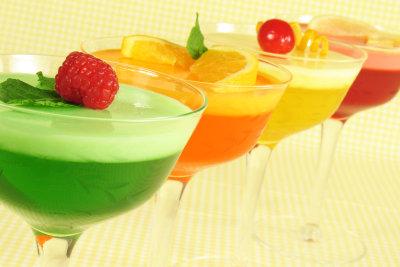Sommerlich leichte Dessertparade