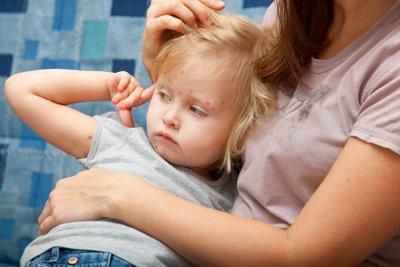 Wasserpocken sind eine typische Kinderkrankheit.