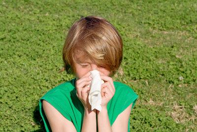 Eine Erkältung dauert meist eine Woche.