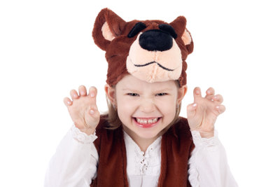 Tierverkleidungen machen Kindern großen Spaß.