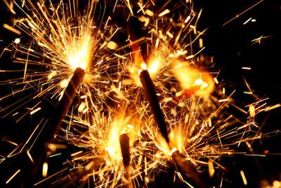 Verpassen Sie nicht das Feuerwerk!