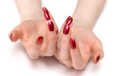 Gesunde und gepflegte Fingernägel.