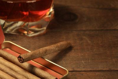 Cigarillos werden trotz des Filters eigentlich nicht auf Lunge geraucht.