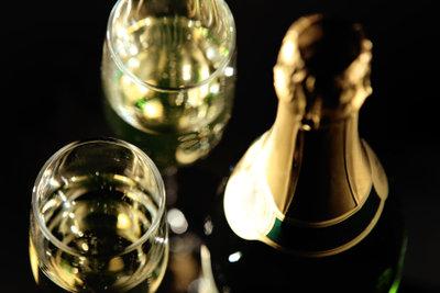 Für einen speziellen Anlass muss es Champagner sein.