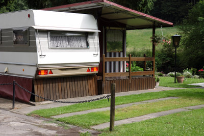 Mit dem Wohnwagen im Urlaub