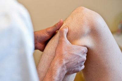 Knieprobleme sollte man ernst nehmen.