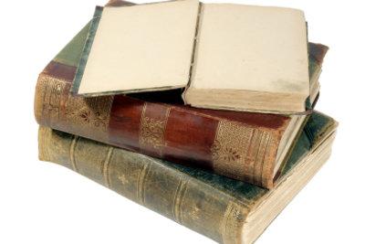 Alte Bücher muss man manchmal abstauben.