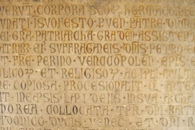 Skandieren ist in Latein nicht schwer, man muss nur viel üben.
