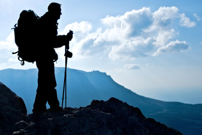 Wandern mit Geotracking - sehr motivierend