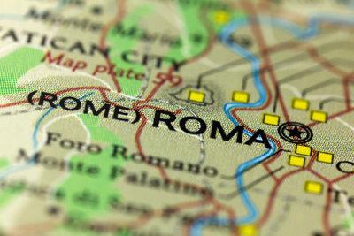Rom liegt ungefähr auf einem Breitengrad mit New York City.
