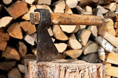 Brennholz für die Ofenheizung.