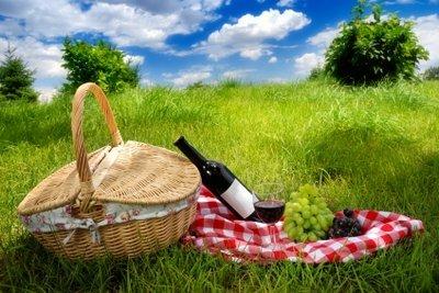 Ein Picknick bietet eine gute Gelegenheit, sich näherzukommen.