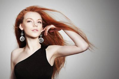 Rote Haare haben eine einzigartige Wirkung.