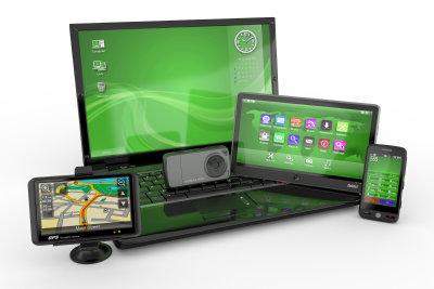 Tablet kann auf Daten vom PC oder Smartphone zugreifen.