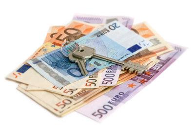 Hat ein Hausverkäufer sein Geld, gibt es die Schlüssel.