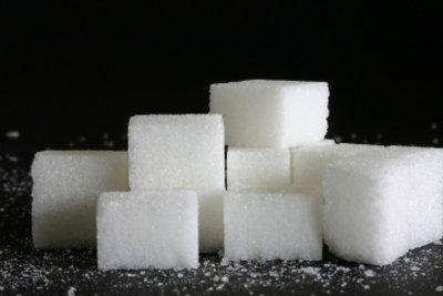 Glucose in der uns bekannten Form: Zuckerwürfel