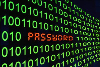 Ein Passwort kann schnell vergessen werden.