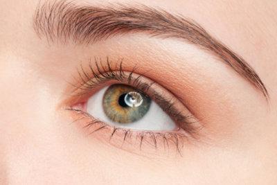 Augenbrauen sind die Rahmen der Augen.