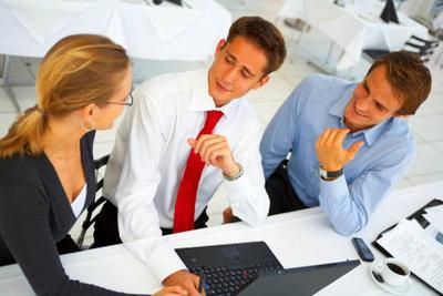 Ein Businessplan sollte sorgfältig erstellt werden.