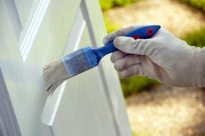 Weiße Holztüren - das Renovieren ist nicht ganz einfach.