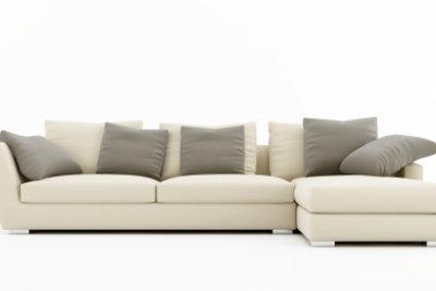 Ein Alcantara-Sofa ist pflegeleicht.