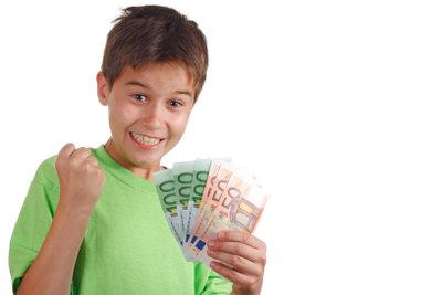 Auch Schüler dürfen Geld verdienen.