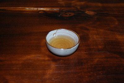 Matcha Tee wird aus der Schale getrunken.