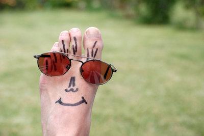 Sonnenbrillen mit polarisierenden Gläsern werden nicht von jedem vertragen.