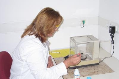 Für den Quicktest ist eine Blutanalyse notwendig.