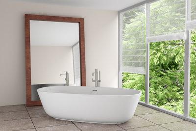 Überstreichbares Silikon - im Bad manchmal unverzichtbar.