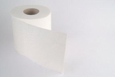 Halten Sie sich in Toilettennähe auf.