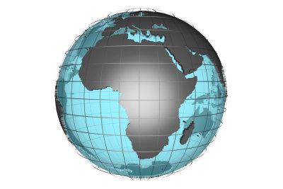 Ein Globus lässt sich lange studieren.