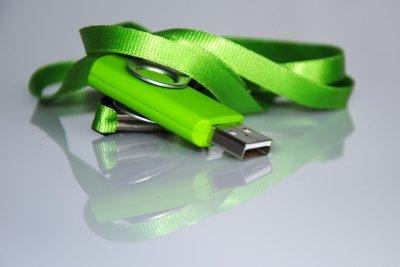 USB-Sticks lassen sich einfach umbenennen.