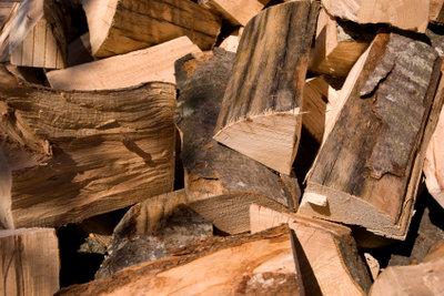 Holz braucht Zeit zum Trocknen.