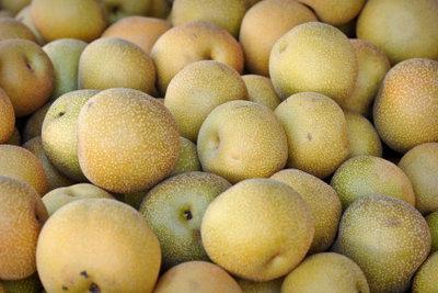 Nashi ist das japanische Wort für Birne.