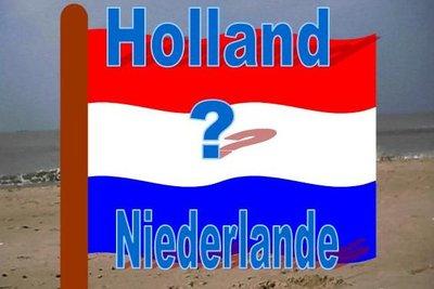 Holland oder Niederlande - was ist richtig?