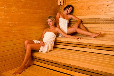 Sauna ist bei Erkältungen nicht empfehlenswert.