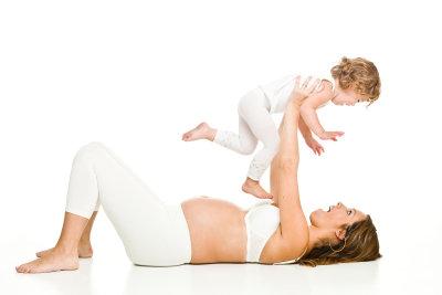 Ein Babybauch kann sehr schön sein.