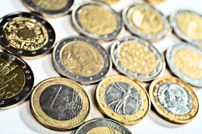 Münzen in Geldrollen ist praktischer.